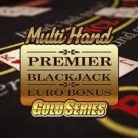 Multi Hand Premier Blackjack Gold Game